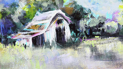 Painting - Barn by Karen Ahuja