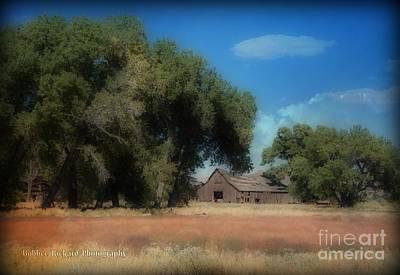 Photograph - Barn Landscape  by Bobbee Rickard
