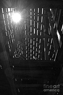 Photograph - Barn Light by Kathy M Krause