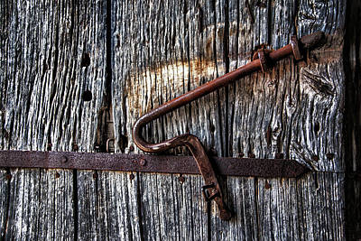 Photograph - Barn Lock by Patrick Boening