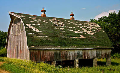 Photograph - Barn Of Ages by Brenda Redford
