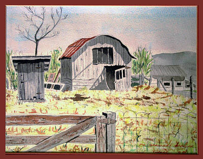 Painting - Barn On Fisk Rd by Dale Turner