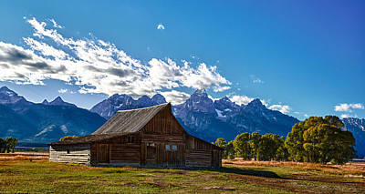 Barn On Mormon Row Art Print