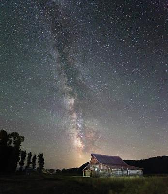 Photograph - Barn On Mormon Row  by Jean Clark