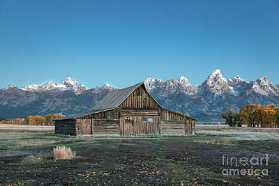Photograph - Barn On Mormon Row by Lynn Sprowl