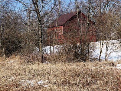 Art Print featuring the photograph Barn On The Edge Of Town by Scott Kingery