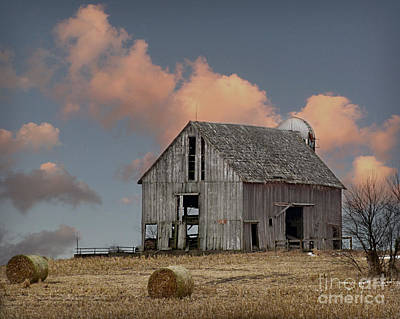 Photograph - Barn On The Hill by Kathy M Krause