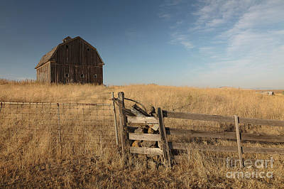 Photograph - Barn On The Prairie by Idaho Scenic Images Linda Lantzy