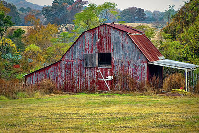 Photograph - Barn On White Oak Road 2 by Patricia Cale