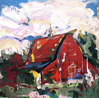 Painting - Barn One by John Jr Gholson