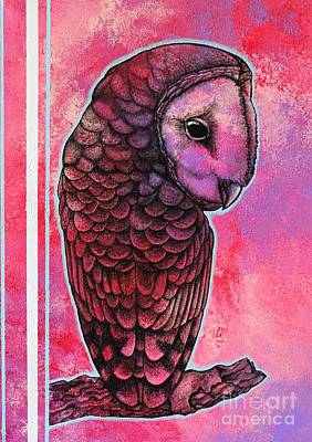 Painti Painting - Barn Owl by Dan Gee