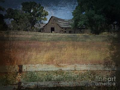 Painting - Barn Painting by Bobbee Rickard