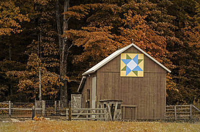 Photograph - Barn Quilt    2 by Susan  McMenamin