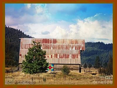 Photograph - Barn Quilt Americana by Bobbee Rickard