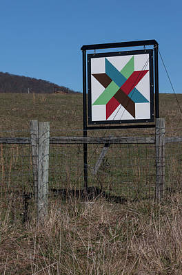 Photograph - Virginia Barn Quilt Series V by Suzanne Gaff