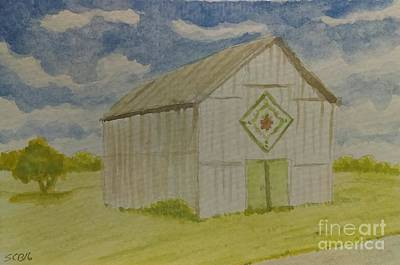 Painting - Barn Quilt by Stacy C Bottoms