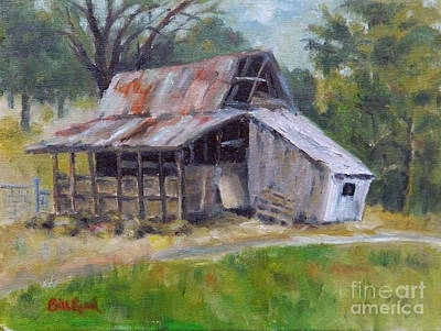 Painting - Barn Shack by William Reed