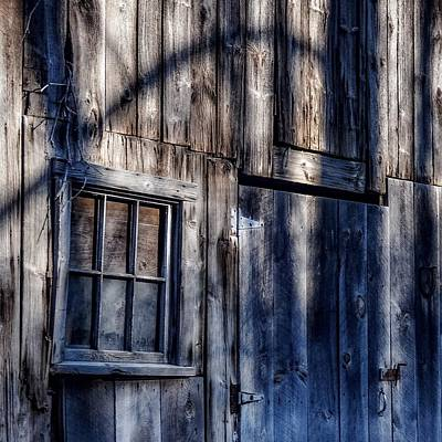 Photograph - Barn Shadows by Kendall McKernon