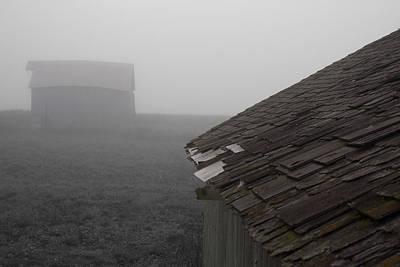 Photograph - Barn Shingles by Dylan Punke