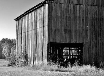 Photograph - Barn Side by Buddy Scott