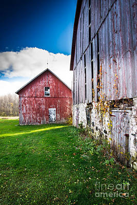 Photograph - Barn Side by Jim Rossol