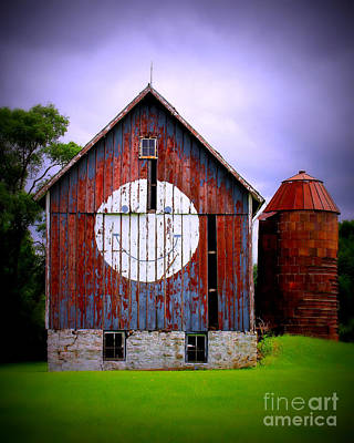 Barn Smile Print by Perry Webster
