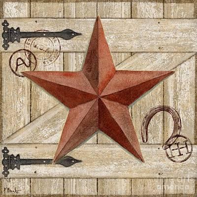 Barn Star I Art Print