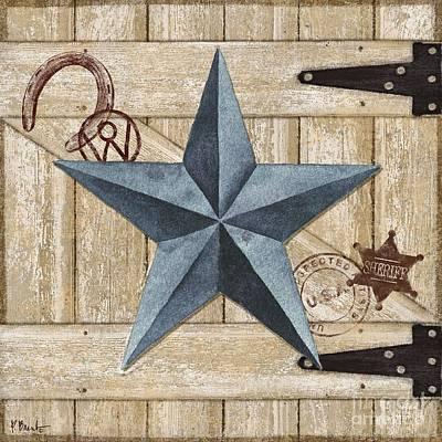 Barn Star II Art Print