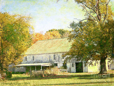 Photograph - Barn Still Standing by Gena Weiser