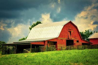 Photograph - Barn Storm, Greenville, Sc by Flying Z Photography by Zayne Diamond