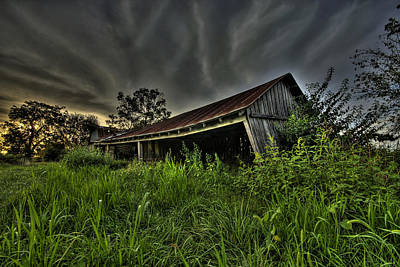 Photograph - Barn Storm by Joe Sparks