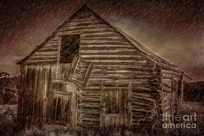 Photograph - Barn Storm by Larry McMahon