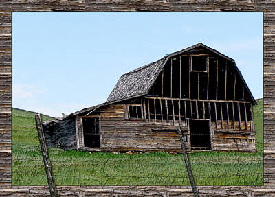Art Print featuring the photograph Barn by Susan Kinney
