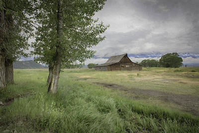 Photograph - Barn View by Patricia Dennis