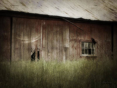 Photograph - Barn West by Cynthia Lassiter