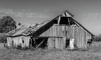 William Morris Photograph - Barn by William Morris