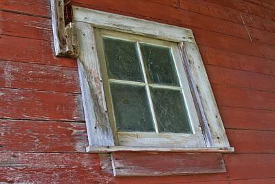 Photograph - Barn Window by Alana Thrower