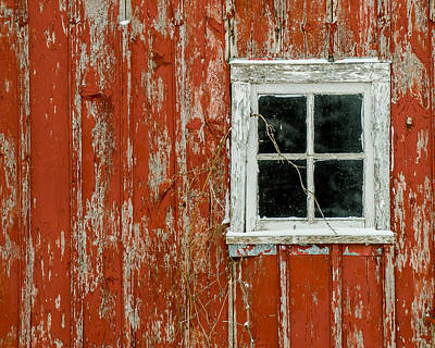 Barn Window Art Print by Dan Traun
