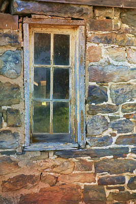 Photograph - Barn Window by Lori Deiter