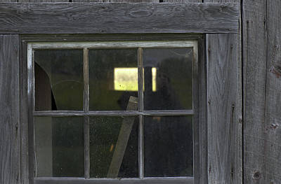 Photograph - Barn Window Revisited by Steven Dunn