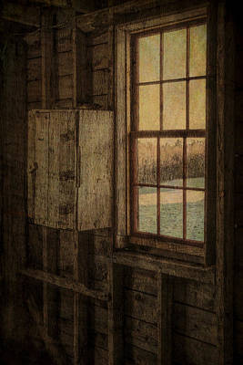 Hard Cider Wall Art - Photograph - Barn Window by Tom Singleton