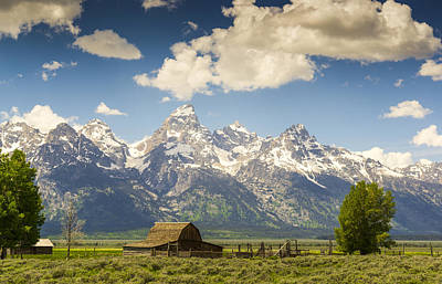 Jackson Hole Wall Art - Photograph - Barn With A View by Peter Irwindale
