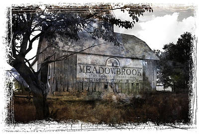 Photograph - Barn With Advertising by Scott Kingery