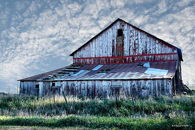 Photograph - Barn With Character II by Kathy M Krause