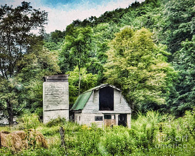 Photograph - Barn With Stories To Tell by Kerri Farley