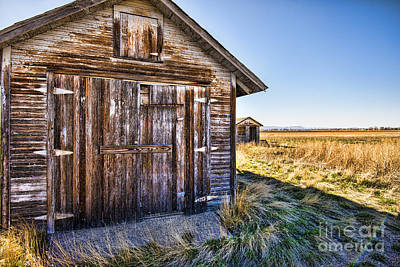 Fort Collins Photograph - Barn Wood by Keith Ducker
