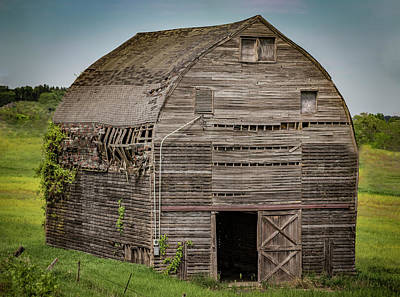 Photograph - Barn Wood by Ray Congrove