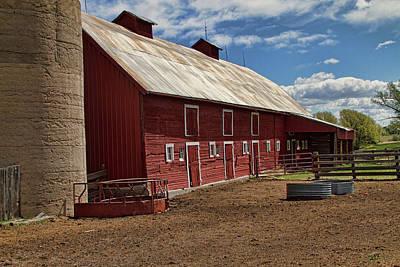 Photograph - Barn Yard by Alana Thrower