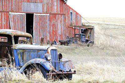 Photograph - Barn Yard Gold by Steve McKinzie