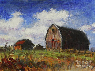 Painting - Barn by Yoshiko Mishina